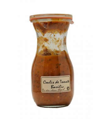 Coulis de Tomate Basilic - 250ml