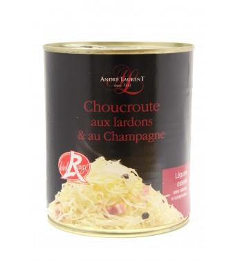 Choucroute aux Lardons et au Champagne - 810gr
