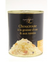 Choucroute à la Graisse d'Oie et aux Raisins - 810gr