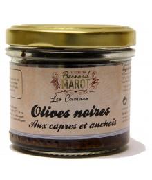 Tapenade Olives Noires & Câpres  - Bernard Marot