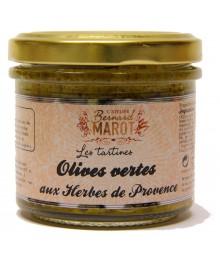 Tapenade Olives Vertes aux Herbes de Provence - Bernard Marot