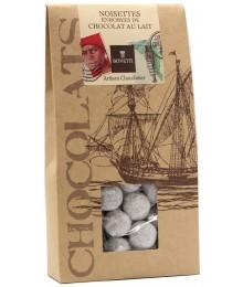 Noisettes enrobées de Chocolat au Lait