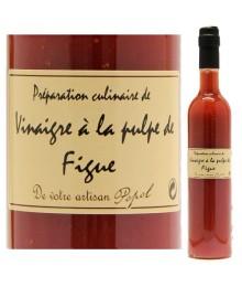 """Vinaigre à la pulpe de Figue - 500ml - Maison """"Chez Popol"""""""
