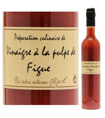 """Vinaigre à la pulpe de Figue - Maison """"Chez Popol"""""""