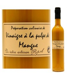 """Vinaigre à la pulpe de Mangue - 500ml - Maison """"Chez Popol"""""""