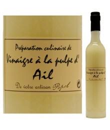 """Vinaigre à la pulpe d'Ail - 500ml - Maison """"Chez Popol"""""""