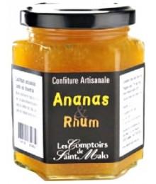 Confiture Ananas et Rhum - 220g