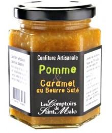 Confiture Pomme et Caramel au Beurre salé - 220g