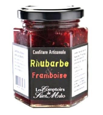 Confiture Rhubarbe et Framboise - 220g