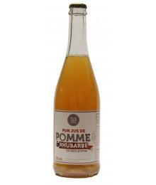 Pur Jus Pomme et Rhubarbe du Pays d'Othe - 750ml