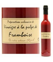 """Vinaigre à la pulpe de Framboise - 500ml - Maison """"Chez Popol"""""""