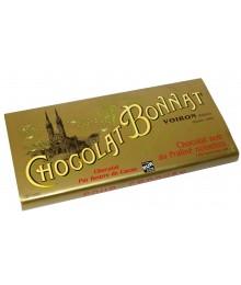 Tablette Chocolat Noir au Praliné noisettes - Maison BONNAT