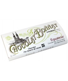 Tablette Chocolat Noir d'Equateur - Maison BONNAT