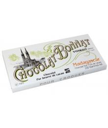 Tablette Chocolat Noir de Madagascar - Maison BONNAT