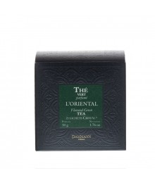 Thé Vert Parfumé en sachets - Mélange Oriental - Dammann Frères
