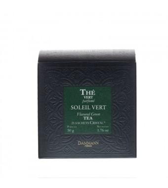 Thé Vert Parfumé en sachets - Soleil Vert - Dammann Frères