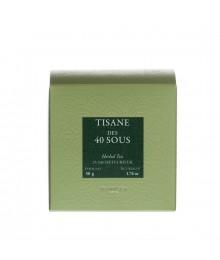 Tisane en sachets - Tisane des 40 sous - Dammann Frères
