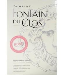 IGP Vaucluse - BIB 10L Estival Rosé - Domaine Fontaine du clos