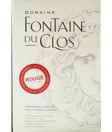 IGP Vaucluse - BIB 5L Liberté Rouge - Domaine Fontaine du clos