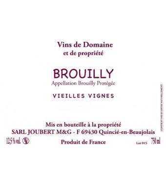 Brouilly - Domaine Marcel Joubert