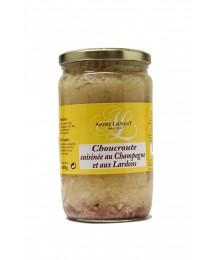 Choucroute Cuisinée au Champagne et aux Lardons - 600gr